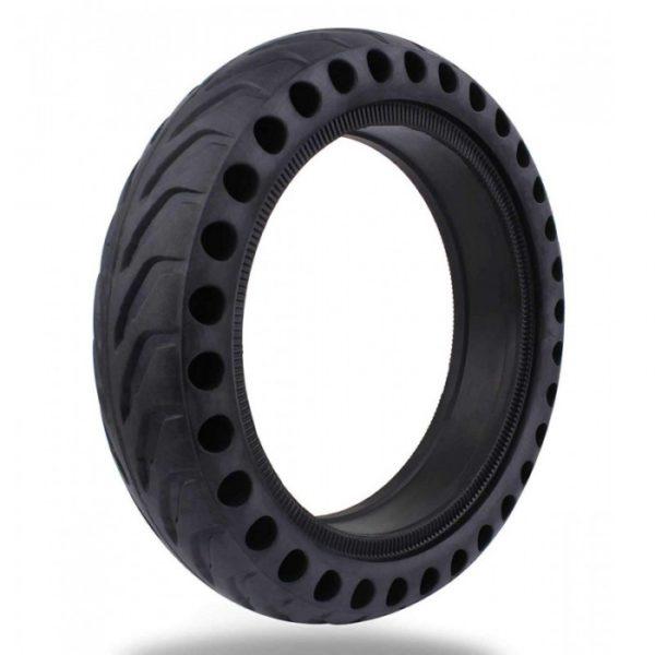 pneu plein alvéolé increvable xiaomi trottinette électrique reims